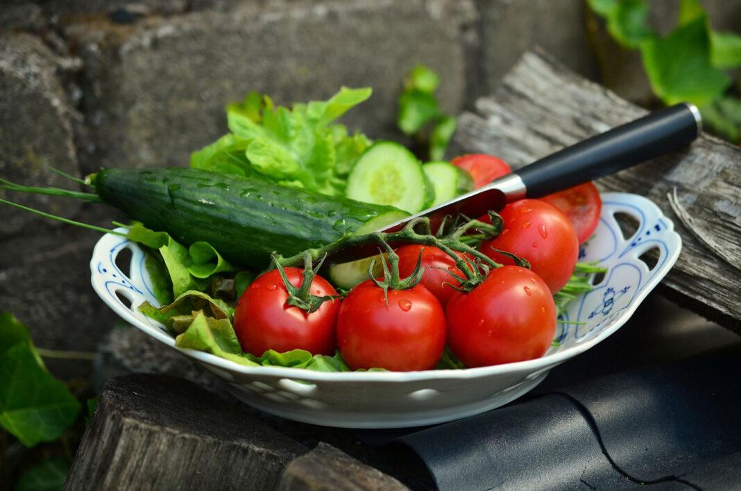 Salat - bunt und gesund