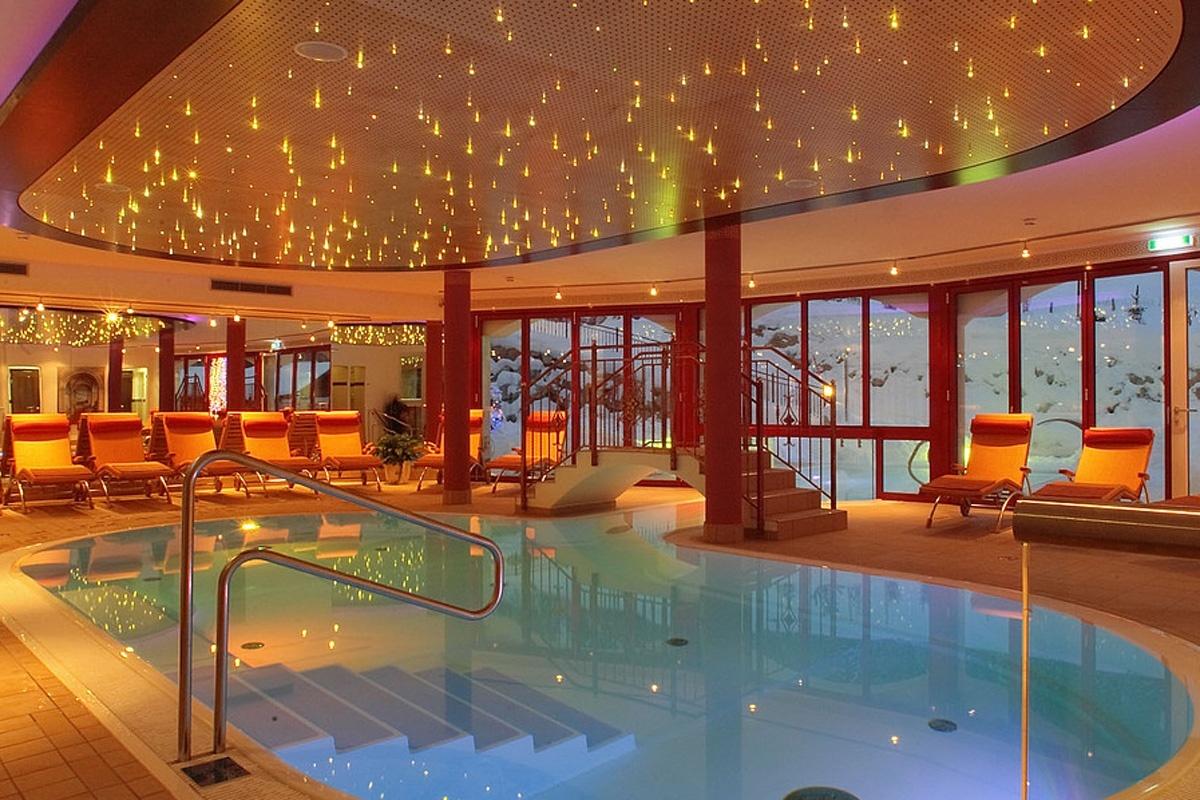 Wellnessbereich Berg & SPA Hotel Urslauerhof