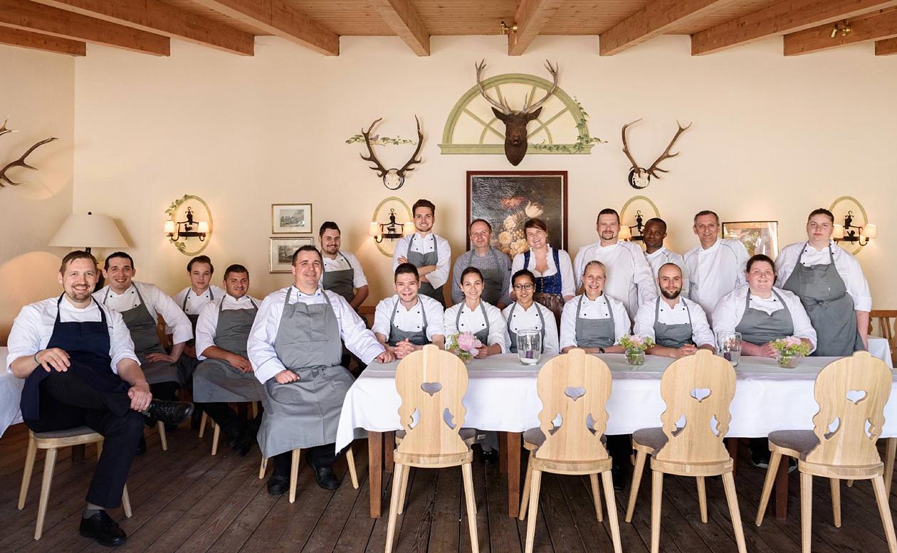 Küchen-Crew «August und Maria»