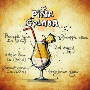 Original-Rezept pina Colada