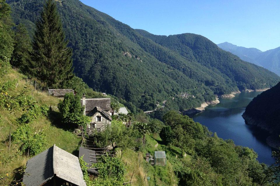 Ausblick LaSerta auf den Stausee