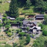 Sicht auf den Weiler «LaSerta» im Verzascatal