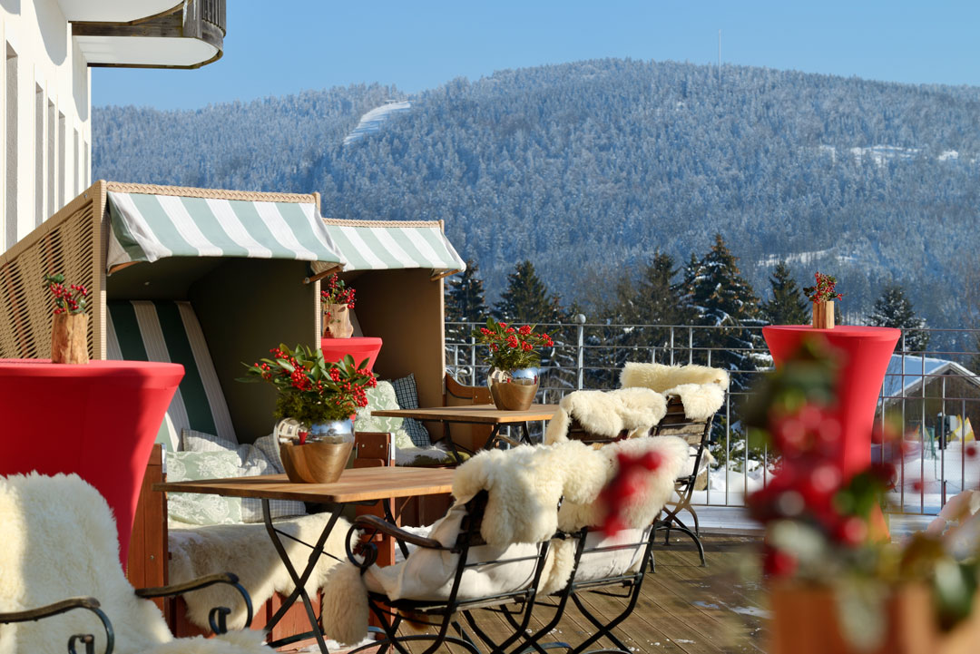 Stille Zeit im Berghotel Maibrunn