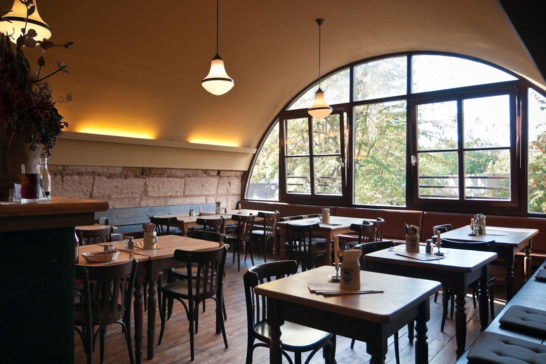Gaststube im Restaurant Kopernikus Nürnberg